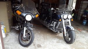 triumph rocket 3 and kz 1000 motorcycles