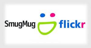 Flickr SmugMug logo